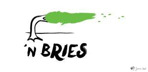 n Bries logo illustratie door Janna Kool