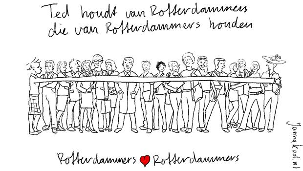 Rotterdammers love rotterdammers janna kool developing for Rotterdammers voor elkaar
