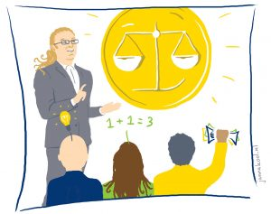 Illustratie voor workshop Grip op geld