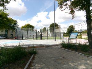 Krajicek Playground boven de ondergrondse wateropslag