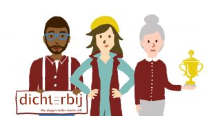 Still uit animatiefilm over kwaliteit verhogen voor zelforganiserende team