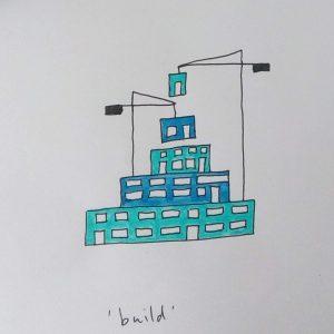 #inktober2019 Build