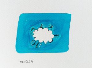 #inktober2019 Mindless