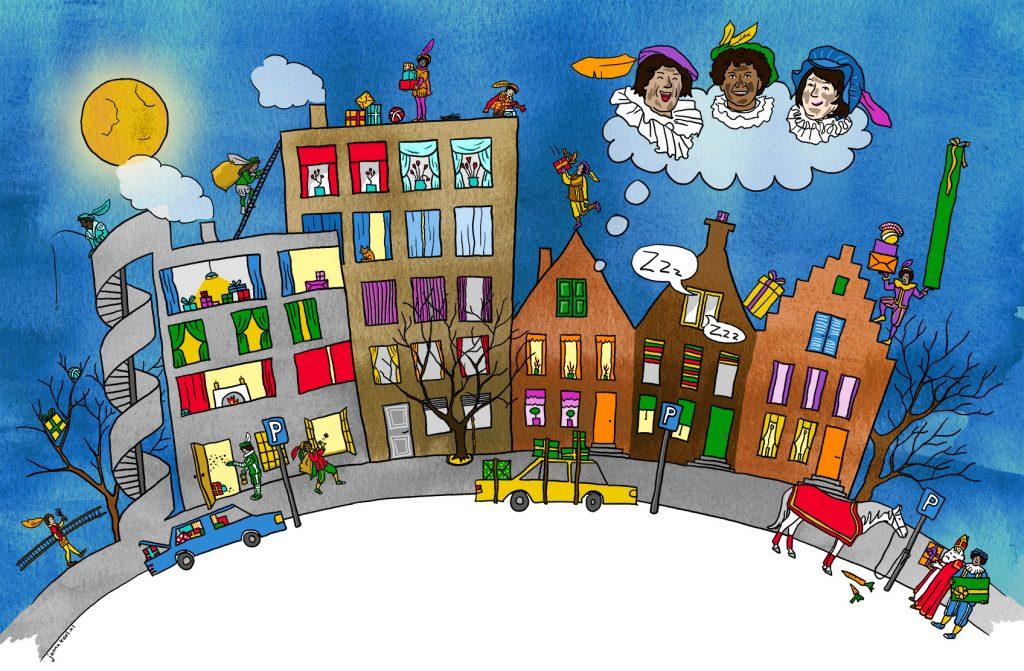 Illustraties voor kinderen: Roetveegpieten