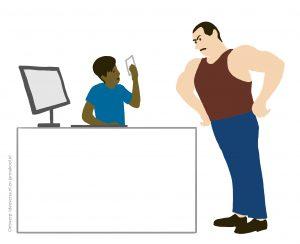 Illustraties-voor-de-rapportage-van-online-bijeenkomsten_Aanspreken-moeilijk