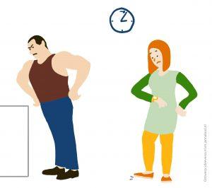 Illustraties-voor-de-rapportage-van-online-bijeenkomsten_Tijdsdruk