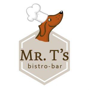 Logo Mr. T's bistro-bar in Heemskerk