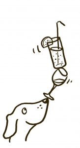 Illustratie of icoon voor drankenkaart